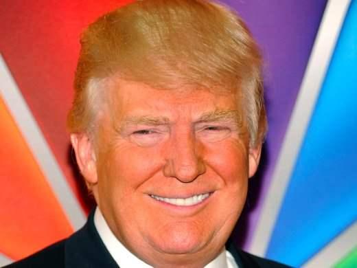 Трамп, желтая кожа, оранжевое лицо, билирубин,