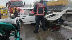 В Турции столкнулось более 25 автомобилей (ВИДЕО)