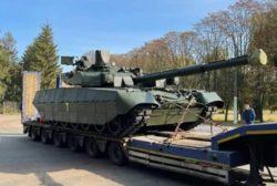 Украина поставила США основной боевой танк Оплот