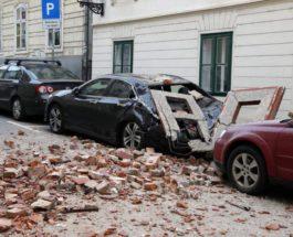Хорватия, землетрясение,