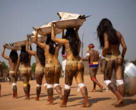 Шингу, племена, Амазонка,