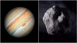 Астероид ударил по Юпитеру с чудовищной силой