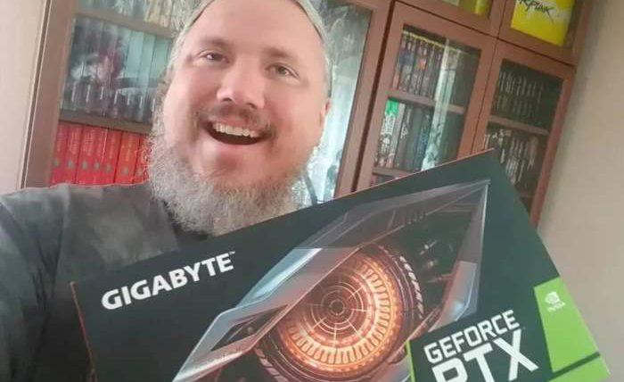 геймер, Польша, видеокарта, торт, NVIDIA GeForce RTX 3080,