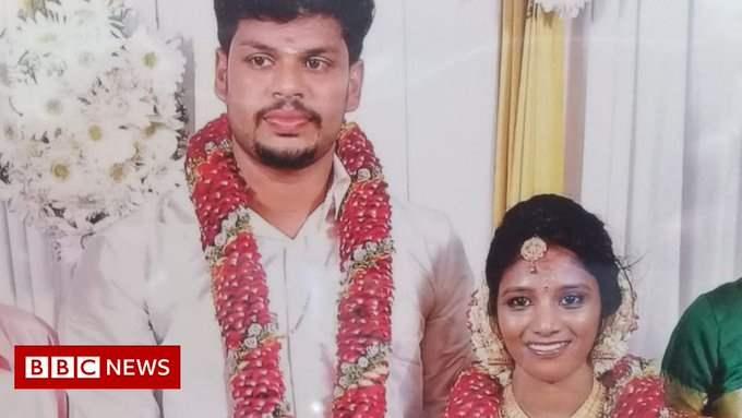 кобра, жена, муж, Индия,
