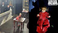 Ужасающий момент: камера засняла движение куклы ночью в музее