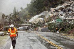 Наводнения и оползни после сильного шторма в Калифорнии