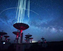 радиосигналы, Млечный путь,