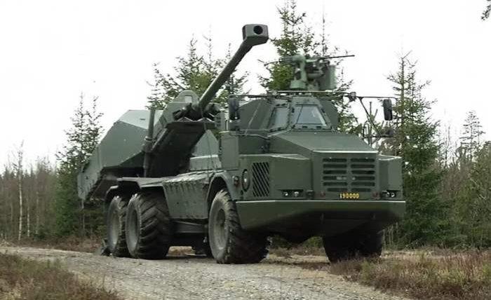 Archer, BAE Systems, гаубица,