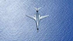 Бомбардировщики B-1B Lancer ВВС США совершили перелет в Черноморский регион