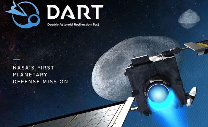 DART, ракета, астероид,