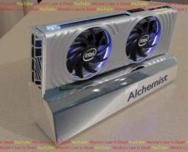 Intel Arc Alchemist, видеокарты,