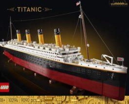 LEGO, Титаник,