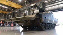 Rheinmetall представила новую секретную боевую машину поддержки