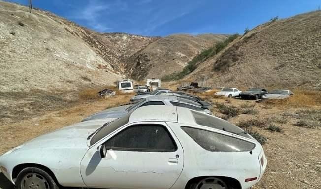 Porsche 928, солнце,