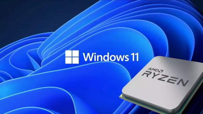 Windows 11, AMD Ryzen,