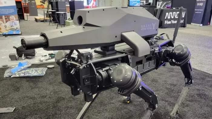 spur, робот, Ghost Robotics,